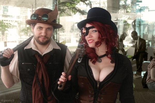 File Steampunk Couple 11518885136 - Wikimedia Commons