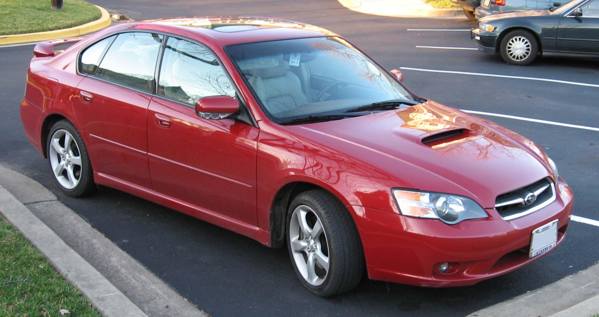 Subaru Legacy GT vs. Acura TL - AnandTech Forums