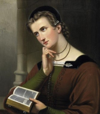 File:Braet von Überfeldt woman with bible 1866.jpg