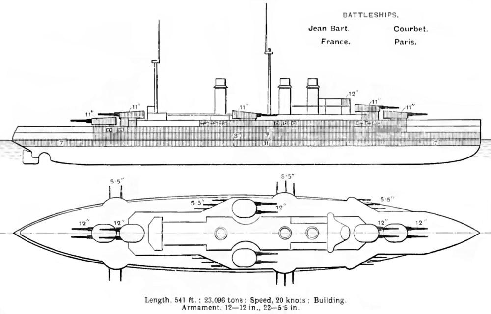 medium resolution of file courbet class diagrams brasseys 1912 jpg