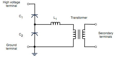 Ac Electromagnet Wiring Capacitor Voltage Transformer Wikipedia