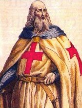 Templar Grand Master Jacques de Molay from Wikipedia's article