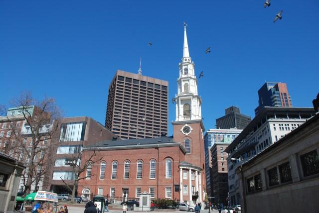 Resultado de imagen de park street church boston