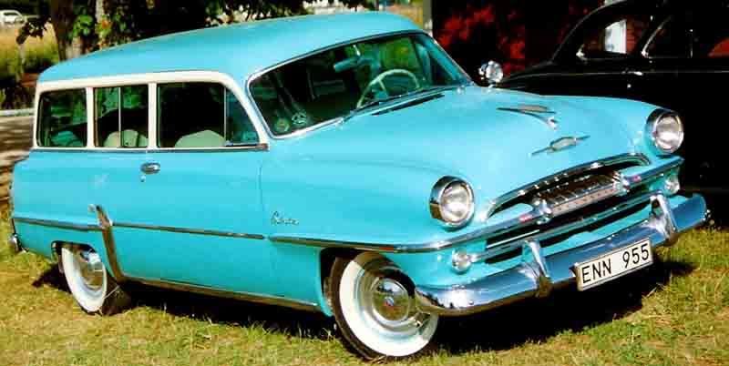 1953 Plymouth Savoy Wagon