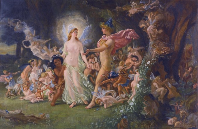 Image result for quarrel of oberon and titania painting high resolution