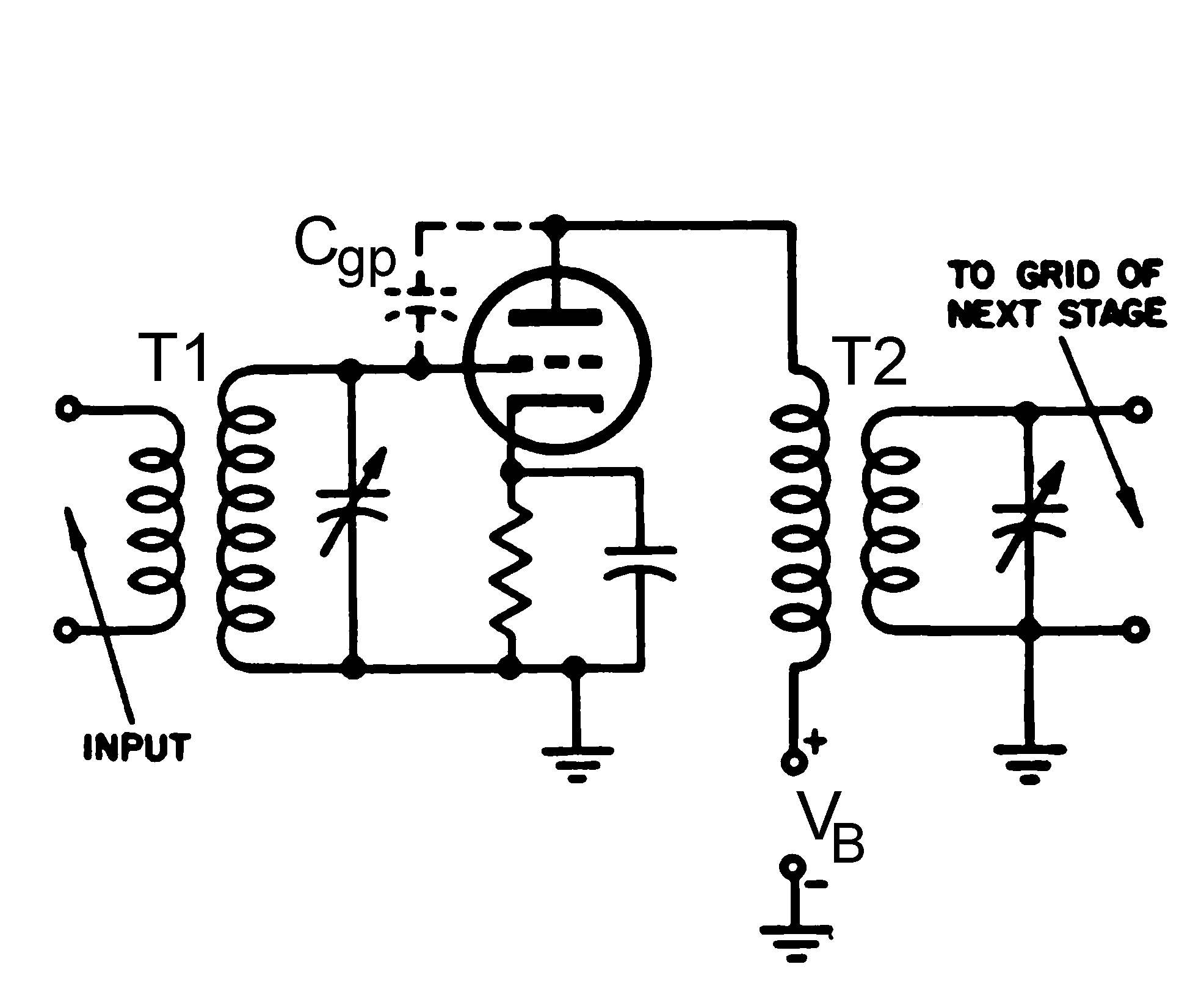 File Tuned Rf Amplifier Stage