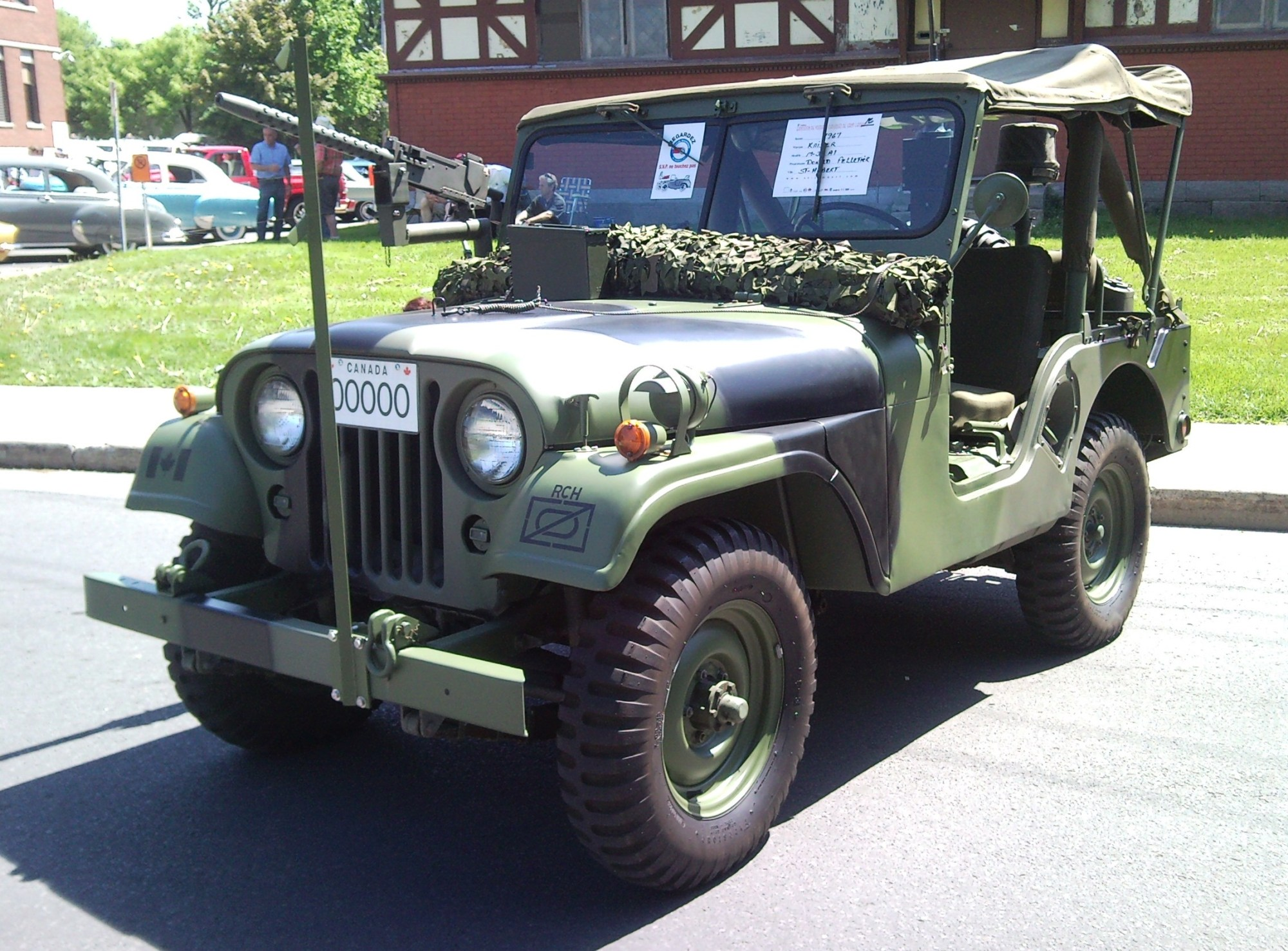 hight resolution of willys m38a1