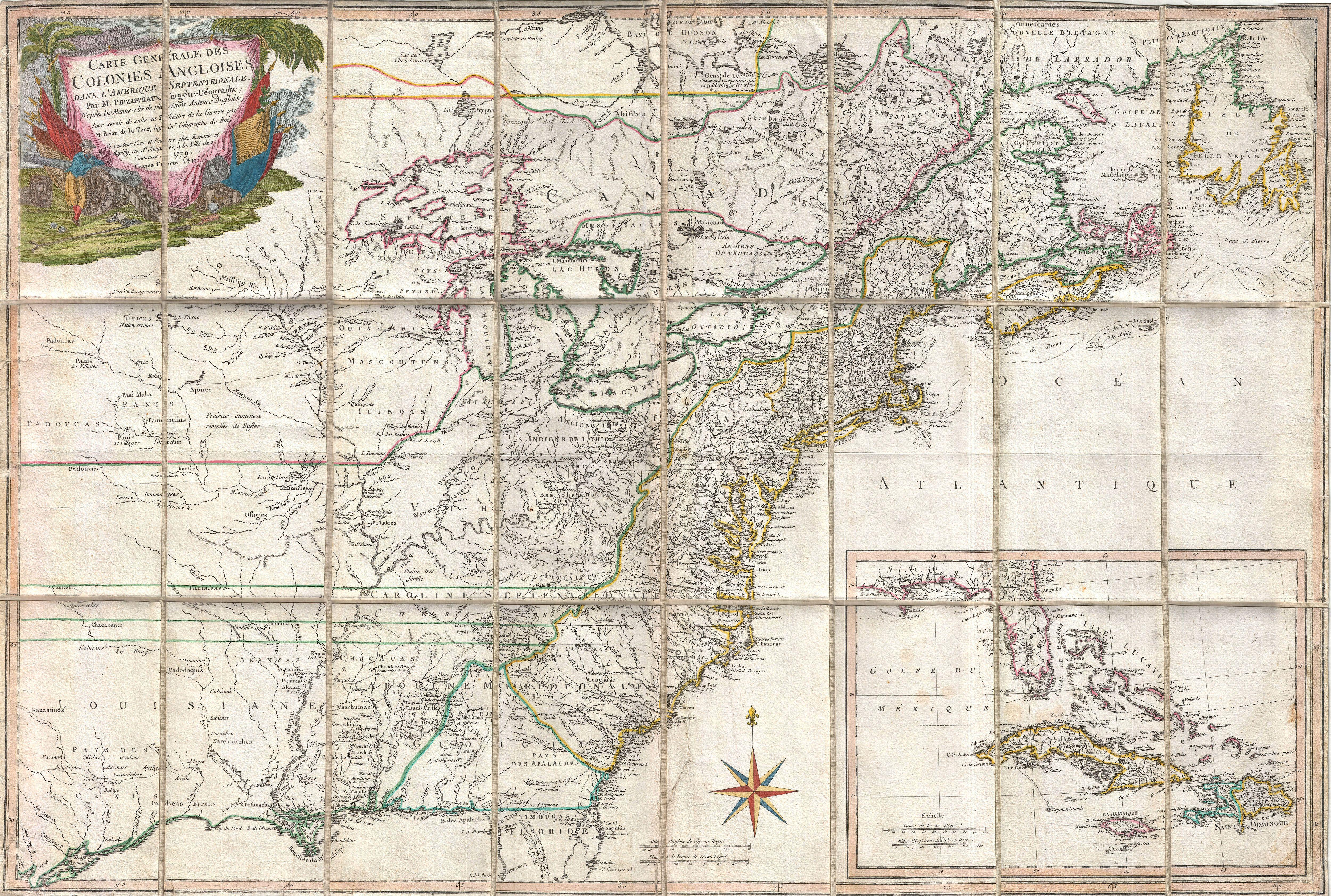 England During The Revolutionary War Map