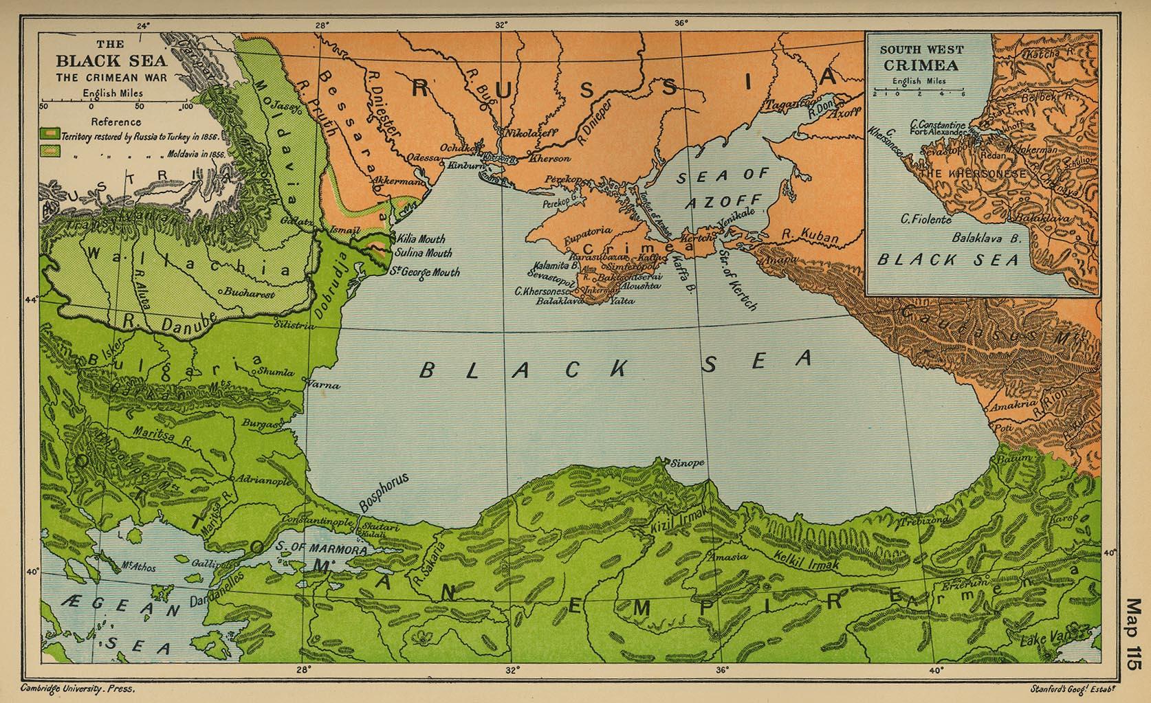 Crimea antes de la guerra
