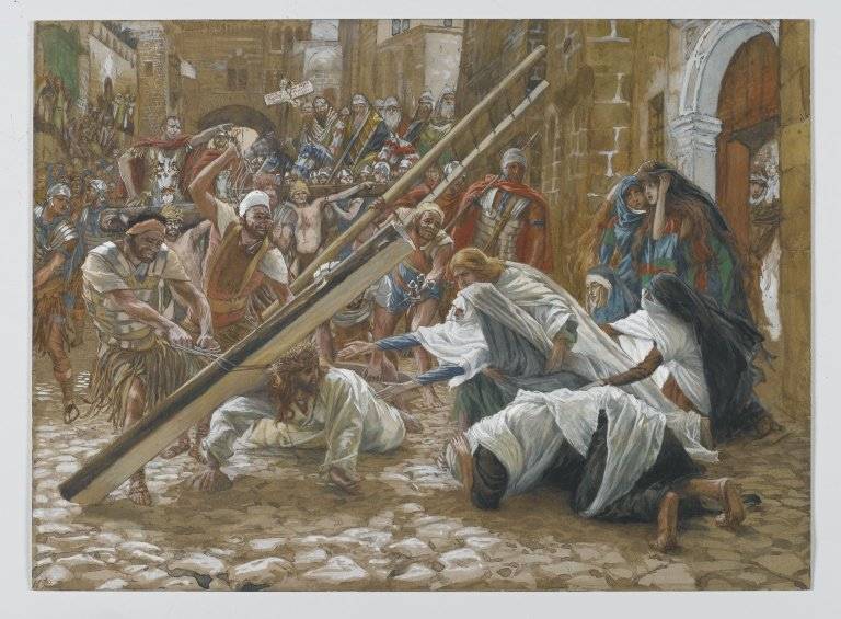 File:Brooklyn Museum - Jesus Meets His Mother (Jésus rencontre sa mère) - James Tissot.jpg