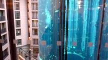 File Diver In Giant Aquarium Atrium Of Sas