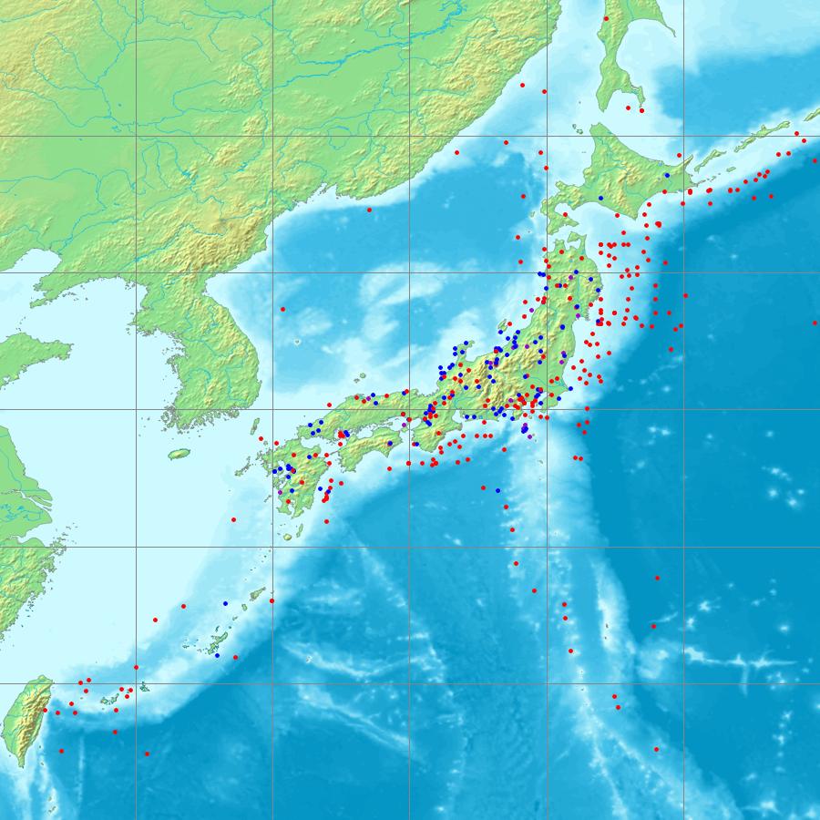 日本地震列表 - 維基百科,自由的百科全書