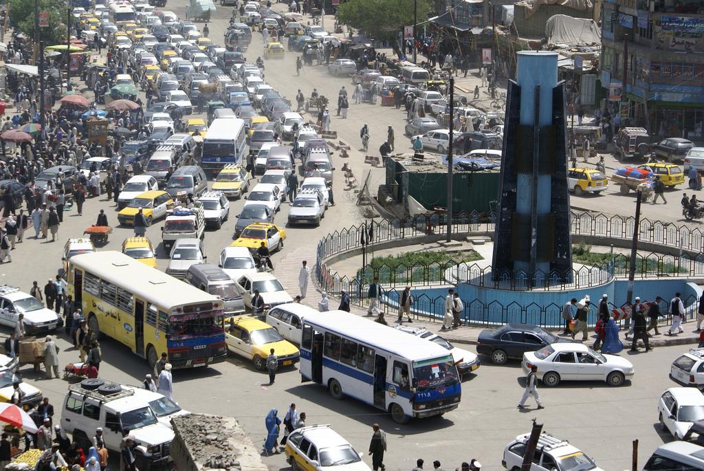 Image result for kabul traffic