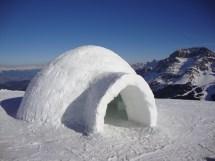 File Igloo Ma Siamo In Alaska Nei Pressi Della