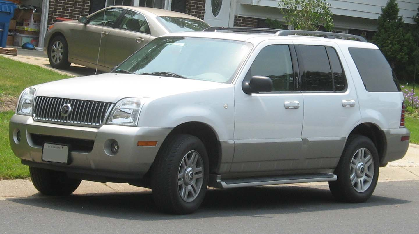 hight resolution of 2001 mercury mariner