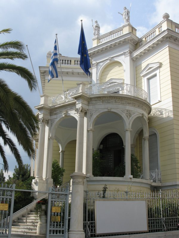 File Cycladic Art Museum Athens Greece Wing