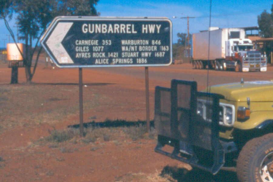 Gunbarrel Highway  Travel guide at Wikivoyage