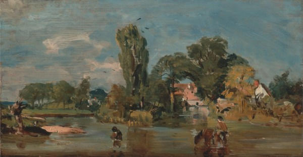 John Constable Flatford Mill Painting
