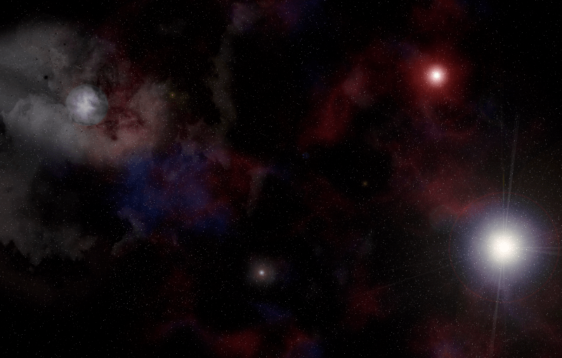 Deep space image. Download the PSD used to cre...