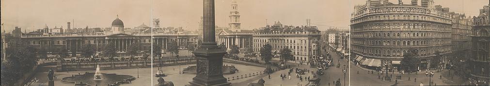 Trafalgar Square, England