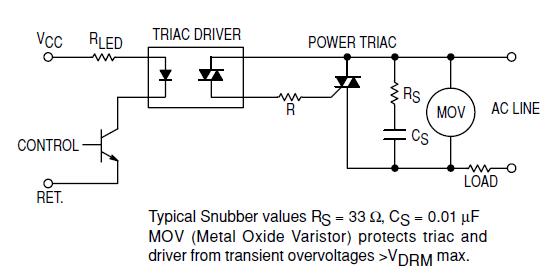 Thermal Protector Wiring Diagram Electr 243 Nica De Potencia Triac Circuitos Snubber Wikilibros