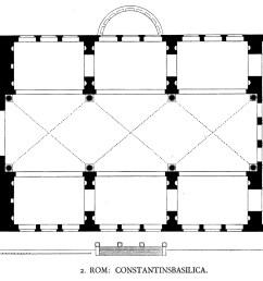 file dehio 6 basilica of maxentius floor plan jpg [ 2280 x 1920 Pixel ]