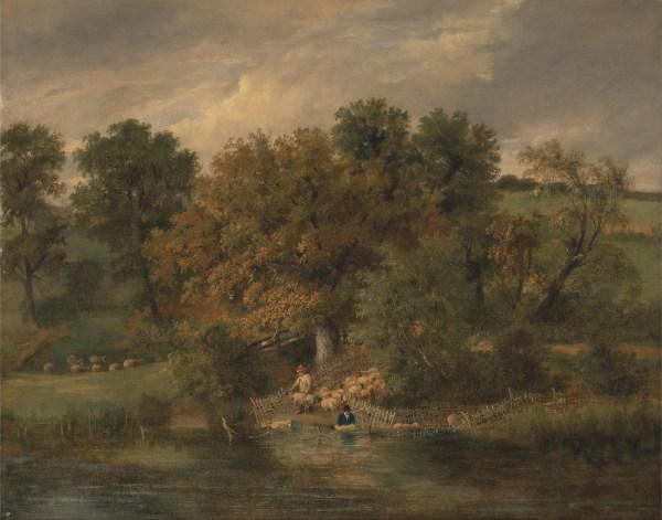 File James Stark - Sheep Washing Postwick Grove