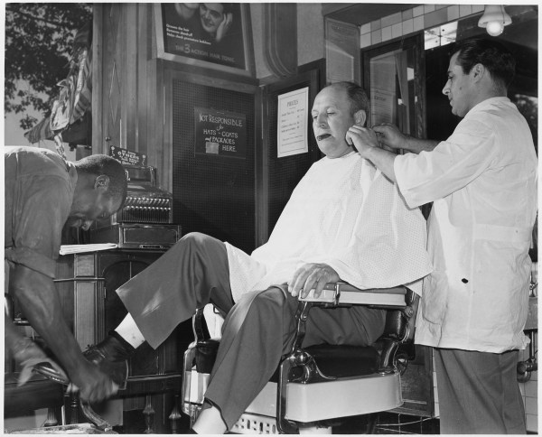Barber Shop Shave and Haircut