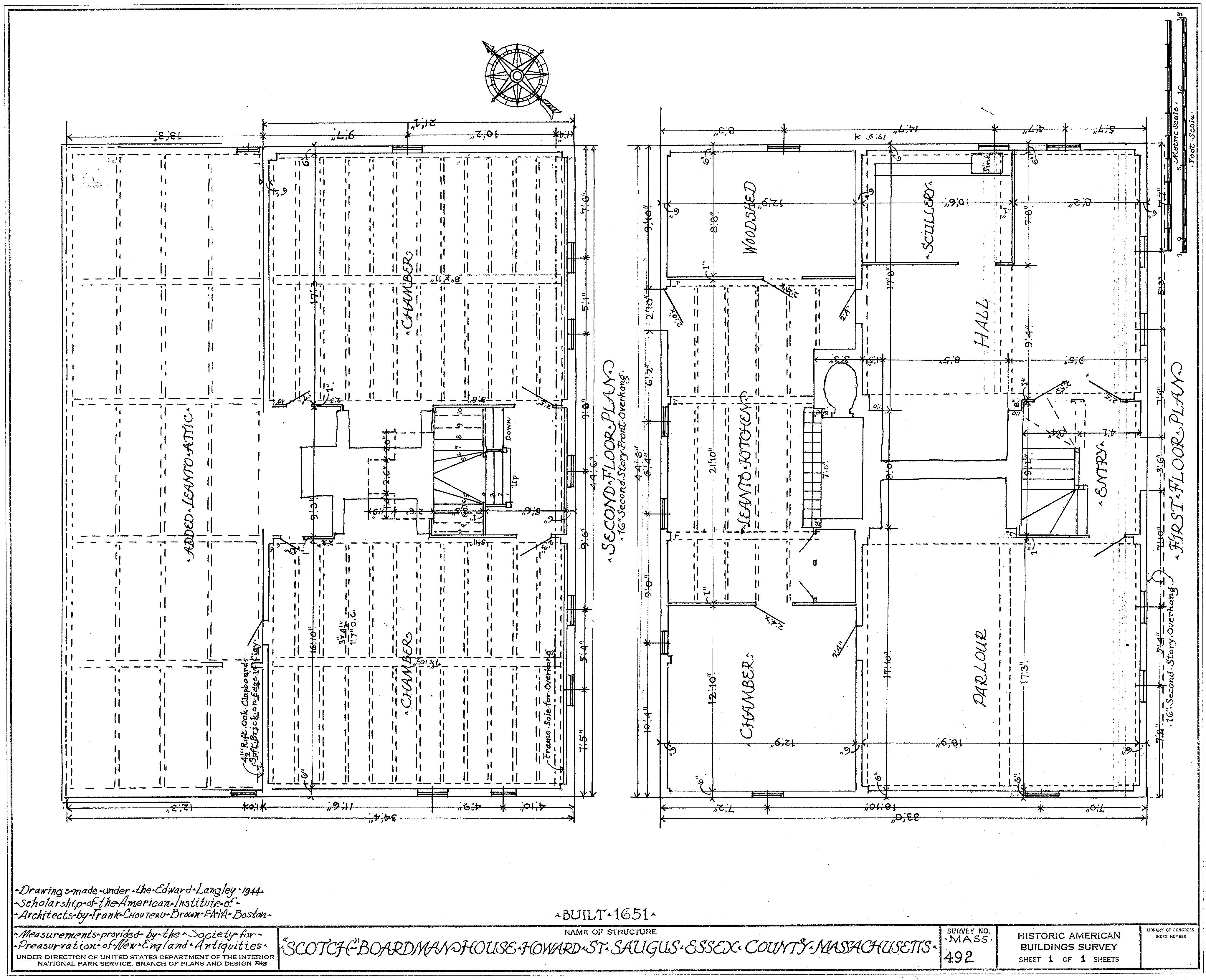 File Boardman House Floor Plan