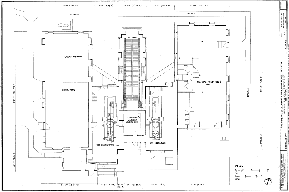 medium resolution of file c d canal pump house plan png