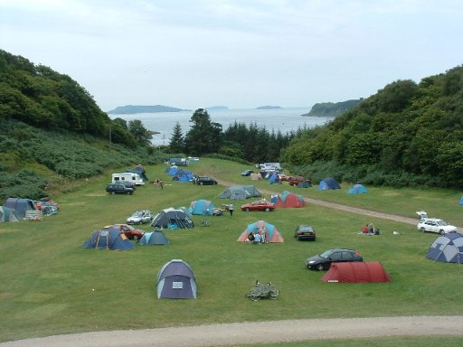 Gallanach Campsite - geograph.org.uk - 36570