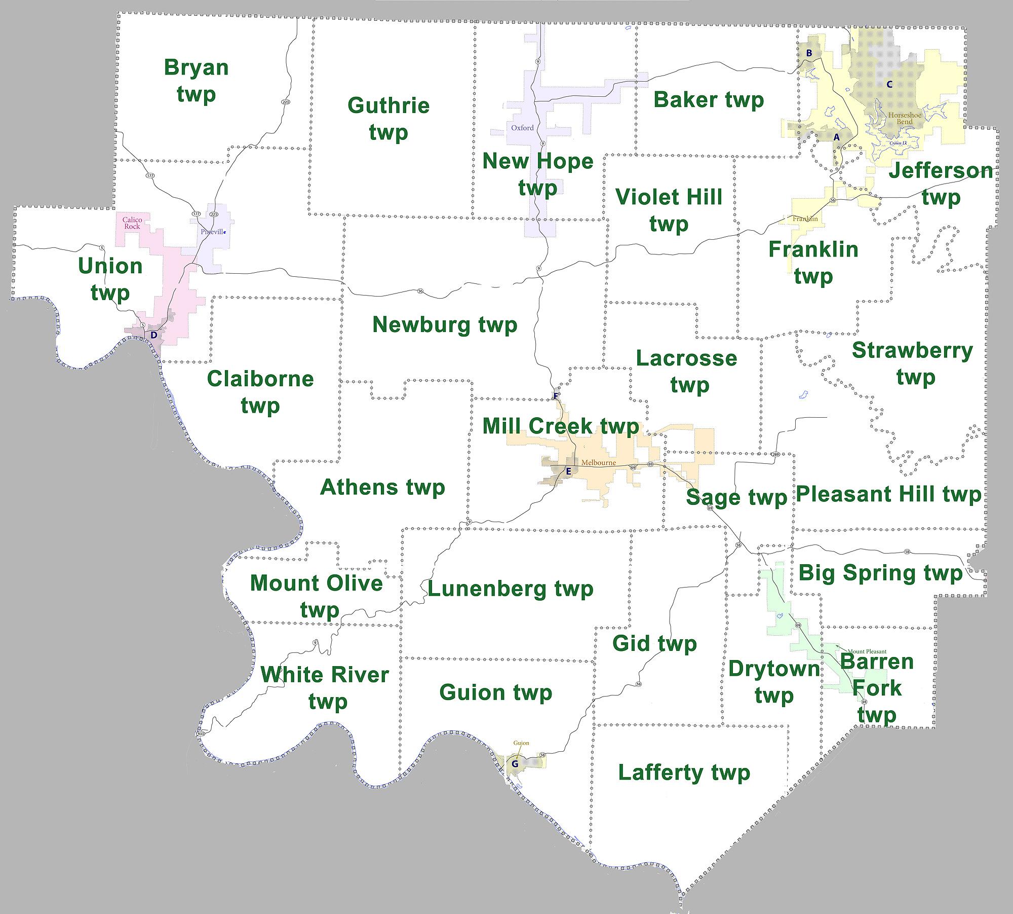 City Street Map Springdale Ar