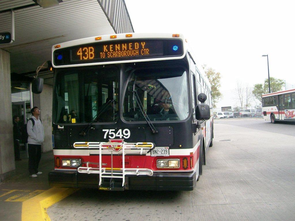 Orion Vii Toronto Transit Commission Bus