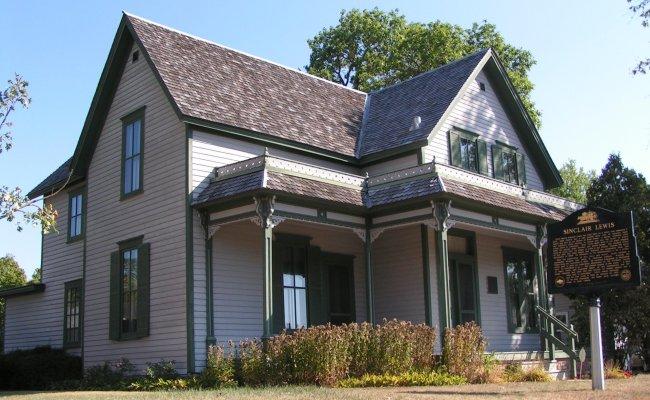 File Boyhood Home Of Sinclair Lewis Jpg Wikimedia Commons