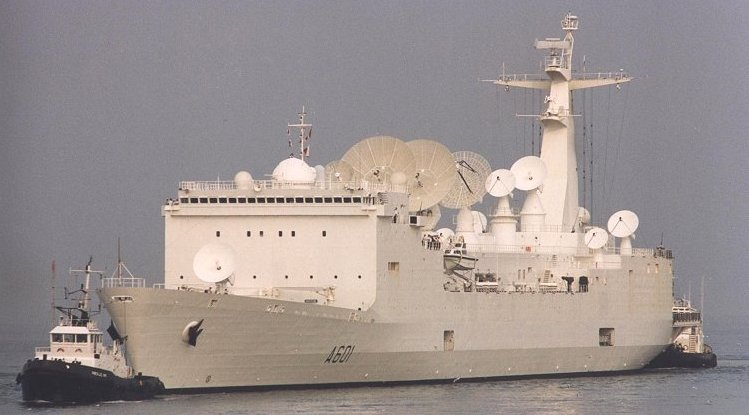 Missle Tracking Ship