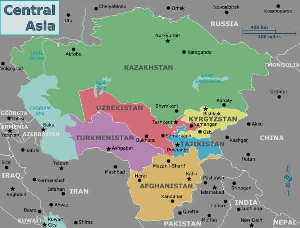 History of Central Asia Wikipedia