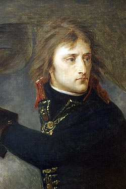 English: The general Bonaparte in Pont d' Arco...