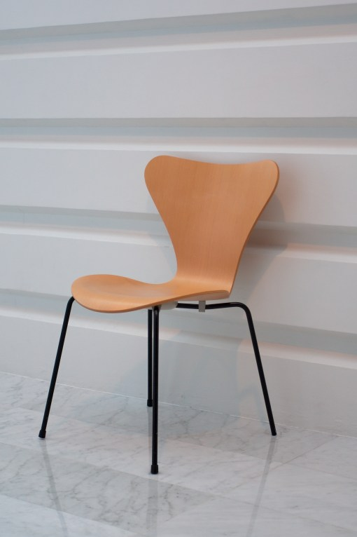 There is no such thing as one right way of sitting, just as not all chairs look like this one.