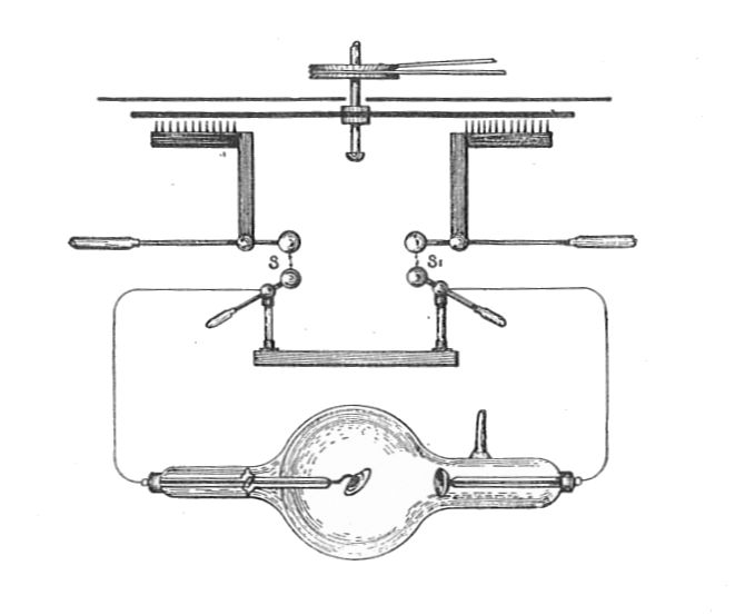 File:Circuit of Wimshurst machine used for X-ray