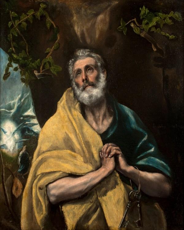 El Greco Saint Peter
