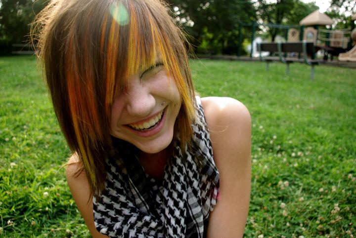 100 [ Emo Hairstyles Brown Hair ]