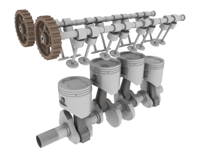 4 stroke petrol engine diagram honeywell thermostat wiring for heat pump valvetrain - wikipedia