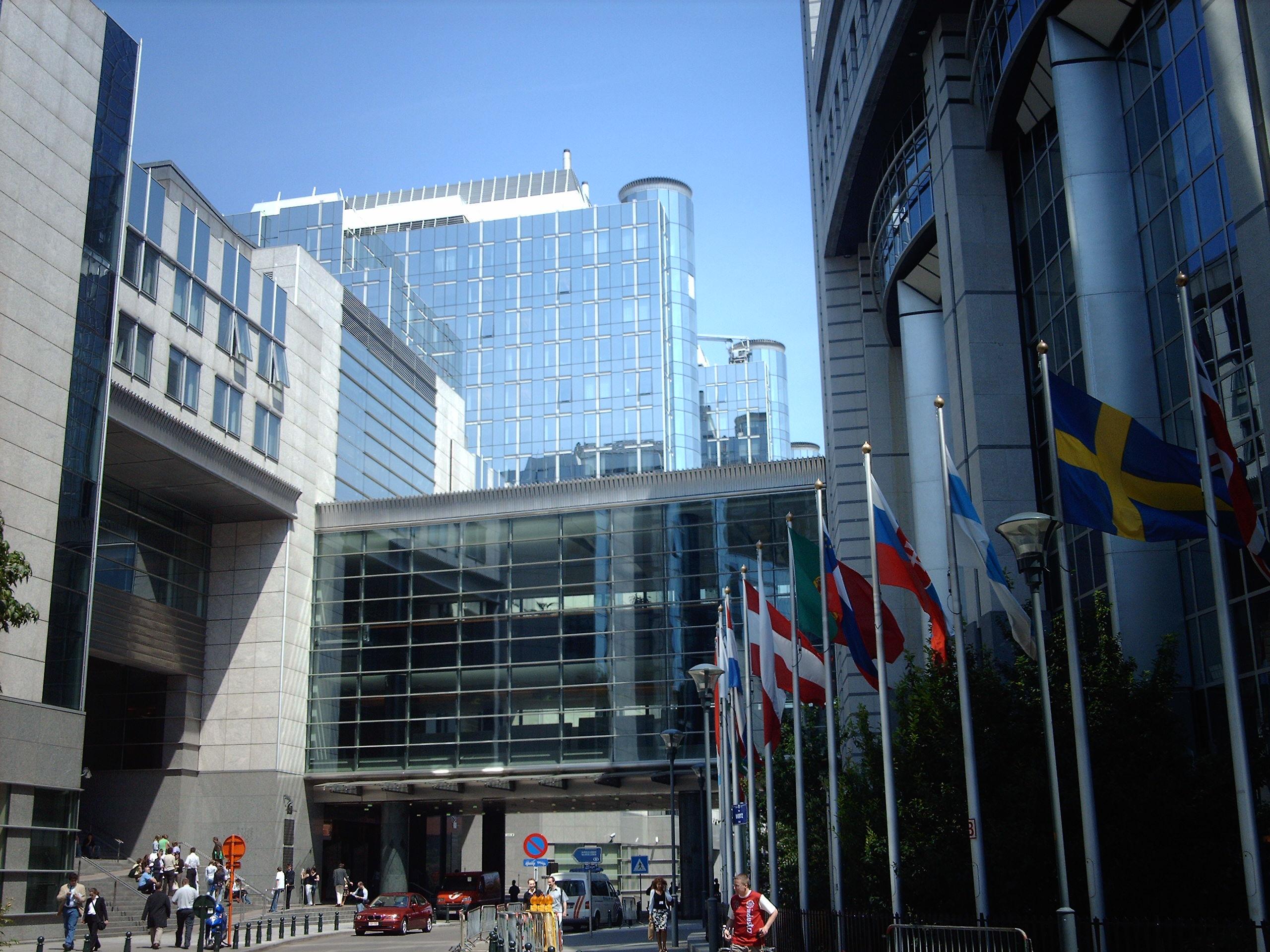 Parlamento de la Union Europea En Brucelas
