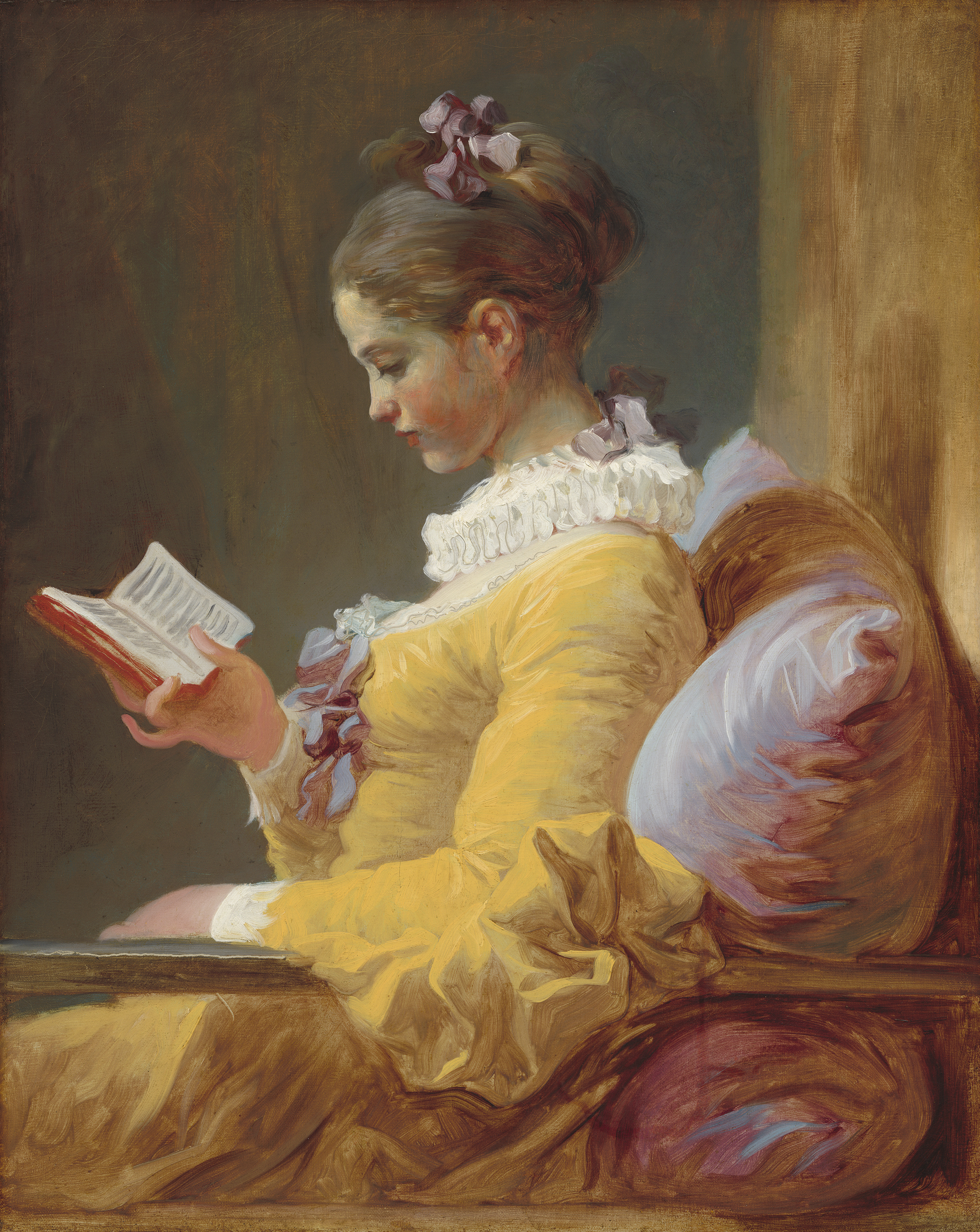 "Fragonard ""The Reader"""