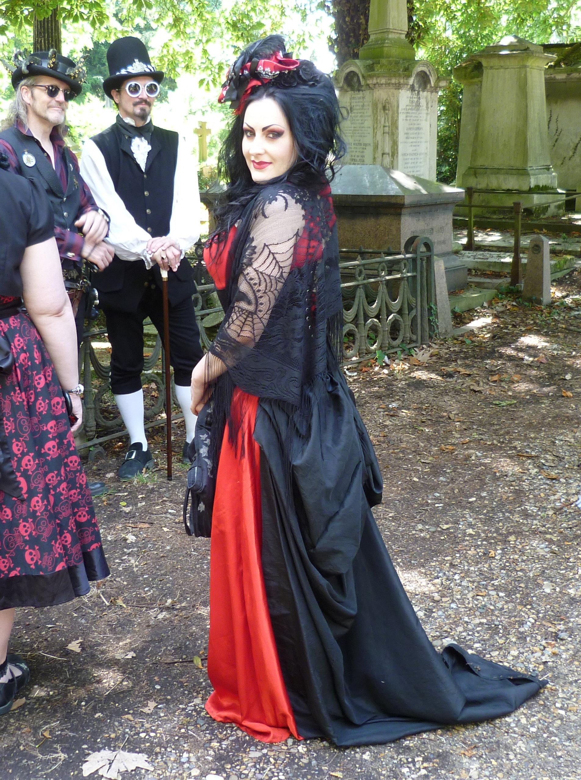 Goth Subgenres : subgenres, Gothic, Fashion, Wikipedia