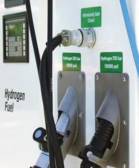 English: Hydrogen fueling nozzle