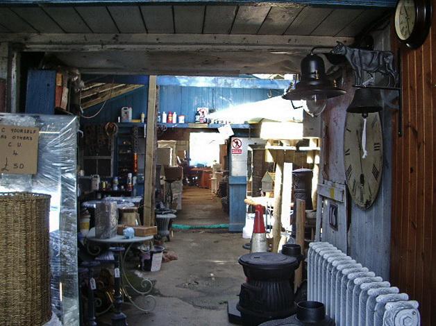 FileInterior of the old garage on King Street Whalley