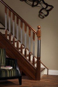File:Modern staircase Erne collection spindles and newel ...
