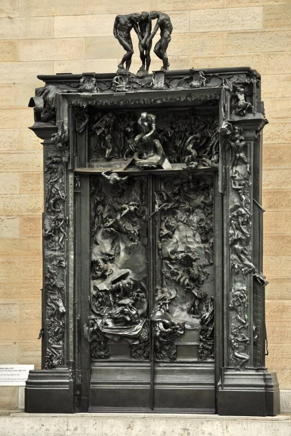 Rodin Sculpture Gates of Hell