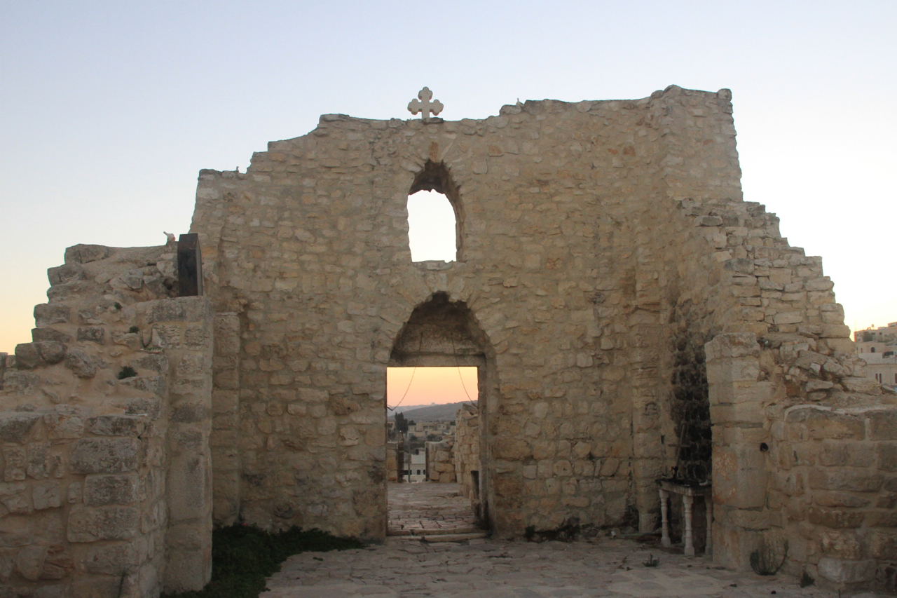 Taybeh Church Ruins